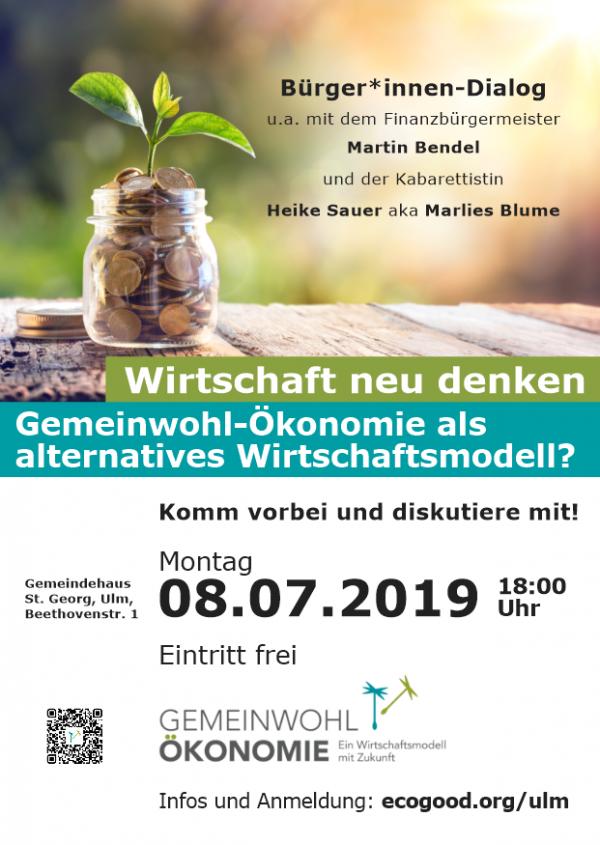 Einladung zum Bürger*innen-Dialog am 08.07.2019 in Ulm