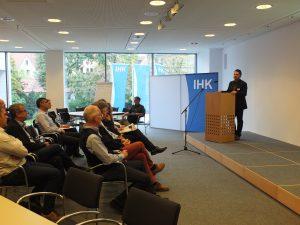 Eröffnung des WIN-Charta Praxisworkshops durch den Gastgeber