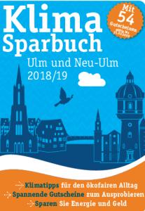 Titelbild Klimasparbuch Ulm und Neu-Ulm 2018/19