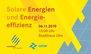 Abschlussveranstaltung der Projekte auf der Solarstiftung Ulm/Neu-Ulm
