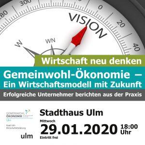 Hinweis auf GWÖ-Unternehmenstag am 29.01.2020 im Ulmer Stadthaus
